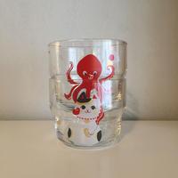 カップセット|Octopus on Cat 猫に蛸
