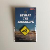 マルアン商会|ジャッカロープのピンバッチ