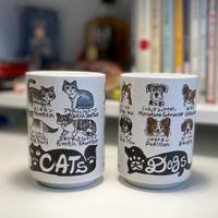 図鑑湯のみ|DOGS & CATS