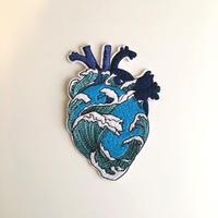ワッペン 心臓柄