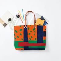 byGaku「S100 Orange Green」|Wall Art Tote Bag