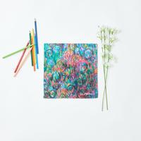 Fujiko Tomizawa「(無題)」|Handkerchief