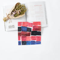 Sanae Sasaki「(無題)」(赤)|Handkerchief