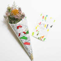 【 Art Bouquet Wrapping】  】SCARF