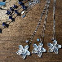 Tin Aroma Style Pendant Natural Stone  Lucky Lilac (錫のアロマスタイルペンダント ラッキーライラック)