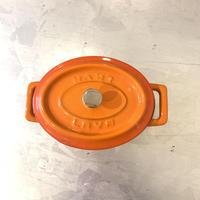 LAVA オーバルココット(オレンジ)