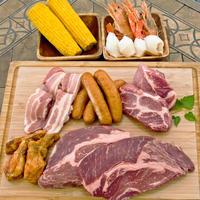 塊肉をお家で焼こう☆【ワンポンドステーキBBQ アソート】★アメリカンビーフや豚肩ロースステーキなど全8品