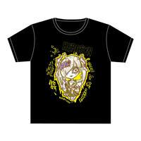 HEROSYN×HYPERCOREコラボTシャツ 月雲巫女