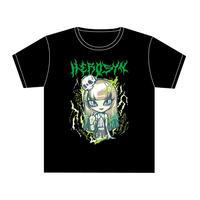 HEROSYN×HYPERCOREコラボTシャツ 籠乃めあ
