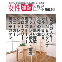 女性雑誌分析レポート Vol.10(2015年1月25日発行号)