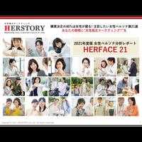2021年度版 ペルソナ分析レポート「HERFACE21 2021」