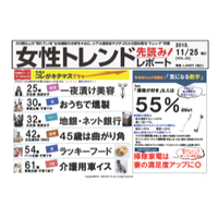 女性トレンド先読みレポート Vol.20(11月25日発行号)