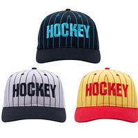 HOCKEY STRIPED SNAPBACK CAP