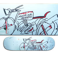 KROOKED RONNIE SANDOVAL RACER K DECK (8.25 x 32inch)
