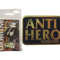ANTI HERO BLACK HERO PINS