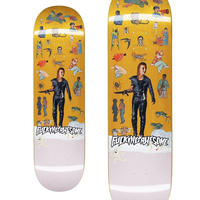 FUCKING AWESOME  ELIJAH BERLE SOCAIL STUDIES DECK  (8.5 x 31.75inch)