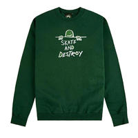 THRASHER GONZ SAD (SKATE AND DESTROY) CREWSWEAT