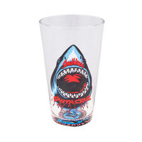 SANTA CRUZ SPEED WHEELS SHARK PINT GLASS