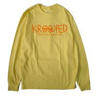 KROOKED KROOKED EYES  L/S TEE