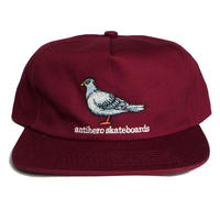 ANTI HERO PIGEON EMBROIDERED SNAPBACK CAP