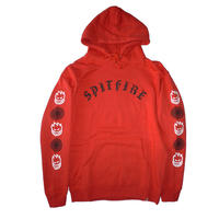 SPITFIRE OLD E COMBO SLEEVE PULLOVER  HOODIE