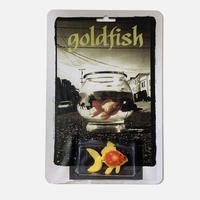 MILK SAGGERS GOLD FISH FIGURE