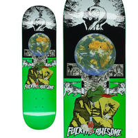 FUCKING AWESOME FROGMAN GREEN DECK  (8 x 31.66inch)