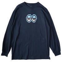 KROOKED EYES LARGE  L/S TEE