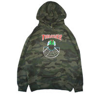 THRASHER DOUBLES LIMITED HOODIE CAMO