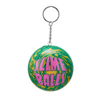SANTA CRUZ SLIME BALLS SQUISHY KEY CHAIN