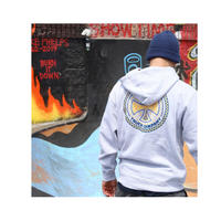 INDEPENDENT TILED PULLOVER HOODIE