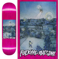 FUCKING AWESOME KEVIN BRADLEY HELICOPTER  DECK  (8.38 x 31.85inch)
