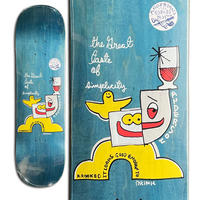 KROOKED MIKE ANDERSON SIMPLICITY DECK (8.38 x 32inch)