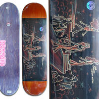 KROOKED SEBO WALKER FASHION VICTIM DECK (8.12 x 32inch)
