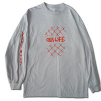 OURLIFE FENCED IN L/S TEE