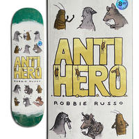 ANTI HERO ROBBIE RUSSO USUAL SUSPECTS DECK (8.25 x 32inch)