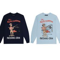 CALL ME 917 HAPPY FISHERMAN L/S TEE