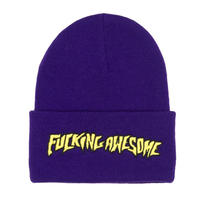 FUCKING AWESOME OUTLINE BEANIE