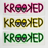 KROOKED KROOK EYES STICKER