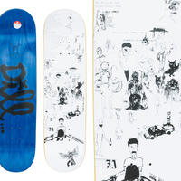 FUCKING AWESOME JASON DILL DRAWINGS DECK  (8.25 x 32inch)