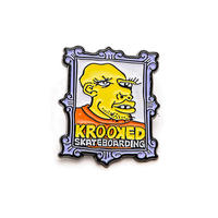 KROOKED FRAME FACE PINS