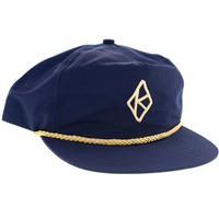 KROOKED DIAMOND K SNAPBACK CAP