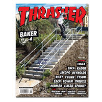 THRASHER MAGAZINE 2020 JANUARY ISSUE #474