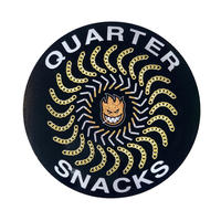 SPITFIRE x QUARTERSNACKS QUARTER CLASSIC STICKER