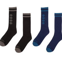 INDEPENDENT CHAIN CROSS CREW SOCKS