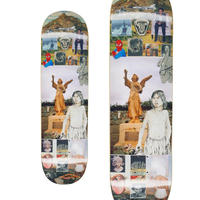 FUCKING AWESOME SAGE ELSESSER SAGE COLLAGE DECK (8.25 x 31.79inch, 8.38 x 31.85inch)