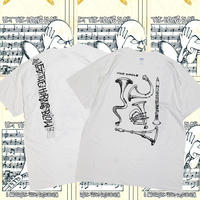 DEAR, x BEAMS SSZ x HESHDAWGZ MAD CIRCLE   LET THE HORNS BLOW TEE
