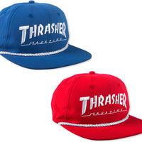 THRASHER  ROPE SNAPBACK CAP