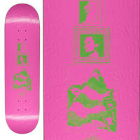 FUCKING AWESOME MALCOM SPEAKS PINK DECK  (8.5 x 31.91inch)