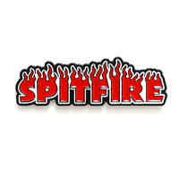 SPITFIRE FLASH FIRE LAPEL PIN
